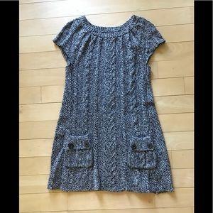 Cute knit micro dress